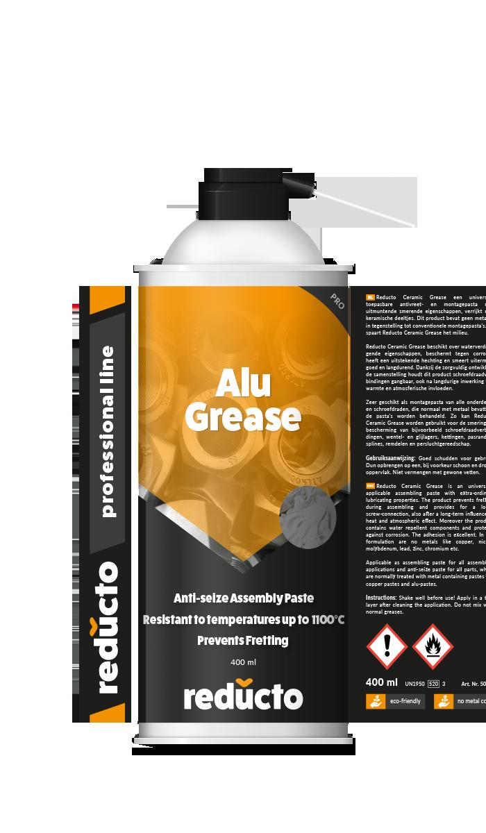 Reducto Aluminium Montagepasta